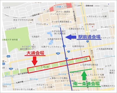 札幌ホワイトイルミネーション2017の期間と点灯時間!場所の地図も5