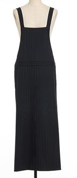 ensuite lumiere ストライプサロペットスカート