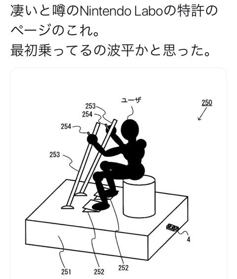 【爆笑】Nintendo Labo(ニンテンドーラボ)の天才が!ツイッター画像w12