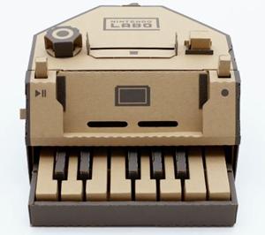 ニンテンドウ ラボ ピアノ 画像