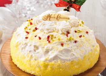 北海道産チーズの2層のチーズケーキ