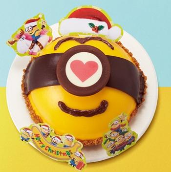 ミニオンフェイスケーキ