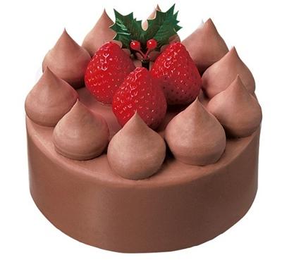 ローソン生チョコケーキ4