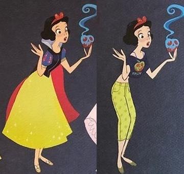 白雪姫画像