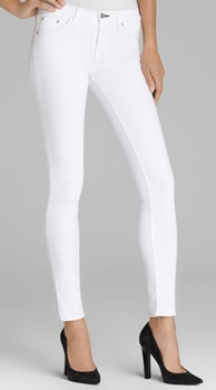 Rag & Bone Bright White Skinny Jeans